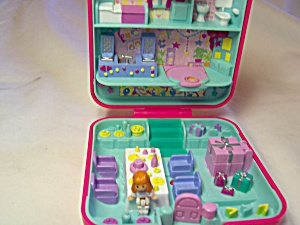 Polly Pocket Bridal Bakery With Doll 1989