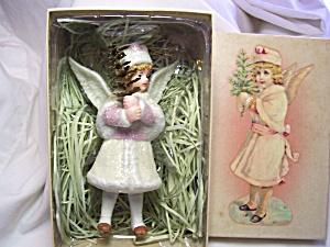 Costco Porcelain Angel Christmas Ornament (Image1)