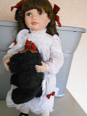 Hamilton McKenzie Porcelain Doll Scottie Dog (Image1)