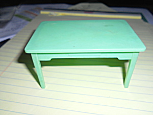 Renwal Dollhouse Green Table