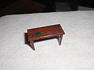 Renwal Dollhouse Stand Or Bench