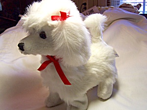 Poodle Stuffed Animated Battery Operated