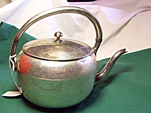 M S Silver Plated Teapot (Image1)
