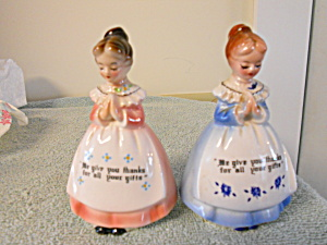 Allied Ladies Praying Salt and Pepper Shakers (Image1)