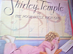 Shirely Temple Book Poor Little Rich Girl