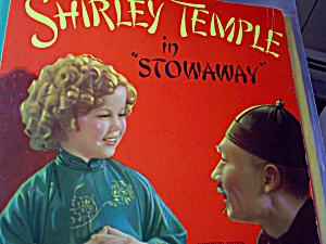 Shirley Temple Book, Stowaway, 1947