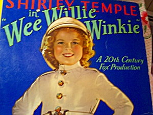 Shirley Temple Doll Wee Willie Winkie Book