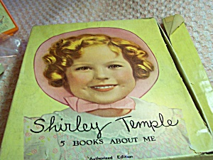 Shirley Temple Boxed Set 5 Books 1946