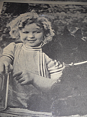 Shirley Temple With Scottie Dog Picture