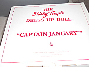 Shirley Temple Captain January Outfit Mib