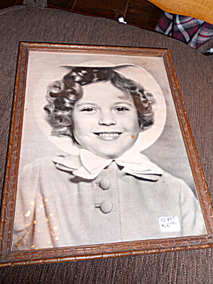 Shirley Temple Framed Picture
