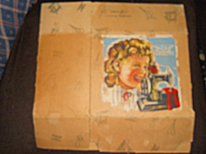 Shirley Temple Sewing Machine Box