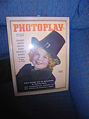 Shirley Temple Photo Cover Photoplay