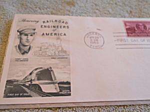 Railroad Engineers of America Stamp 1950 (Image1)