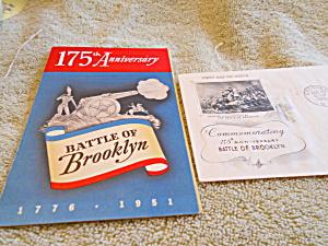 1st. Day Cover, Washington, Battle Brooklyn (Image1)