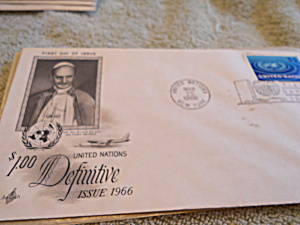 Pope Paul VI 1st. Day Cover (Image1)