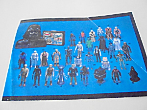 Star Wars Action Figures Booklet 1981