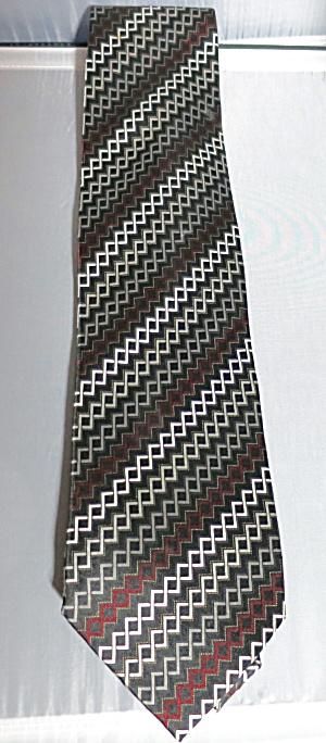 Vintage Neck Tie Covington 100% Silk Hand Made China (Image1)