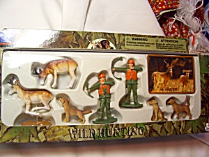 New Ray Wild Hunting Deer Playset Boxed (Image1)