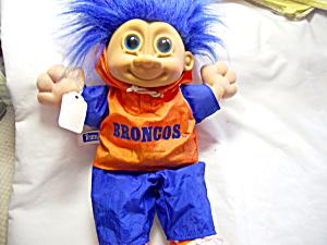 Russ Troll NFL Bronco Player Blue Hair (Image1)