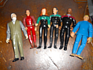Star Trek Action Figures Set Of 6