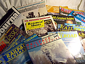 Toy Train Magazines Lot Total Of 18