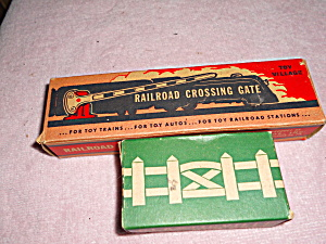 Toy Train Bochmann Bros Crossing Gate And