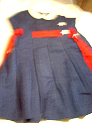 Vintage Florence Eisewau Girls Dress 5 Or 6