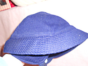 Boys Or Girls Navy Blue Hat With Ear Flaps