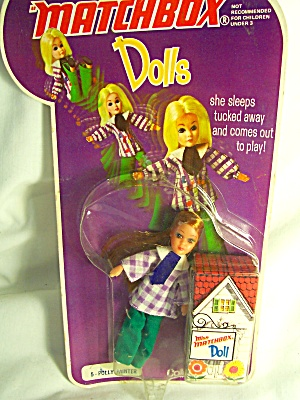 Miss Matchbox Lesney Doll Polly Painter 1973