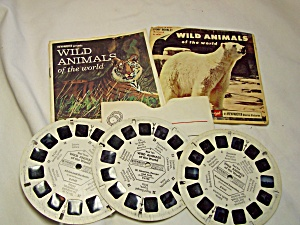Viewmaster Reels Wild Animals Set 1958
