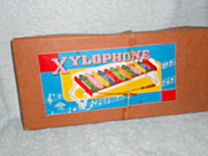 Xylophone Sticks And Music In Box Msk Japan