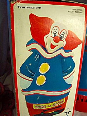 Bozo the Clown Record Phonograph Transogram (Image1)