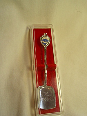 Worlds Fair 1984 Louisiana Souvenir Spoon