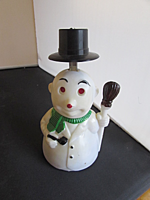 Mechanical Snowman Tilting hat Toy by Ace Hong Kong (Image1)