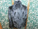 Click to view larger image of Vintage Wilsons Leather Maxima Black Rabbit Fur Jacket  (Image4)