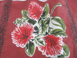 Click to view larger image of Vintage Apron Advertising Rata N Z Native Flower (Image3)