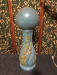 Click to view larger image of Ceramic Garden Ball and Pedestal circa 1970s (Image3)