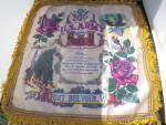Click here to enlarge image and see more about item 524-17: US Army Engineers Mother Fort Belvoir VA  Pillow Case