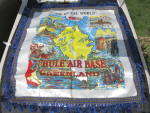 Click here to enlarge image and see more about item 527-17: Thule Air Base Greenland Silk Pillow Case