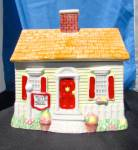 Click here to enlarge image and see more about item 726-468: Nestle Toll House House Cookie Jar Limited Edition 1992