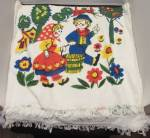 Click here to enlarge image and see more about item a00001: Jack and Jill Bath Towel Trophy by Cannon Mills