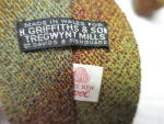 Click to view larger image of H. Griffiths & Sons Tregwynt Mills Mens Wool Tie  (Image3)