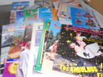 Click here to enlarge image and see more about item MB-AL37: Annalee Magazines Booklets and Passes Lot