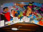 Click here to enlarge image and see more about item COMIC141: Star Trek Comics Set of 3 1987-89