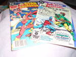 Click here to enlarge image and see more about item MB-Comic154: Star Squadron Comics Pair