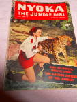 Click here to enlarge image and see more about item MB-COMIC161: Comic, Nyoka, The Jungle Girl, 1951