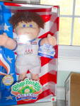 Click here to enlarge image and see more about item MB-CP316B: Cabbage Patch Doll Special Olympic Kid 1995