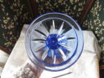 Click to view larger image of Avon Fostoria Cobalt Blue Goblet George Washington (Image4)