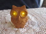 Click here to enlarge image and see more about item 65-16: Light Up Blinking Eye Owl battery operated light